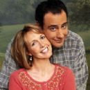 Brad Garrett and Monica Horan