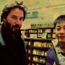 Keanu Reeves with fans