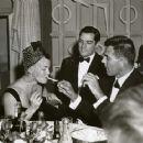 Fred May and Lana Turner with John Gavin - 454 x 363