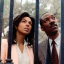 Marsha Thomason and Eddie Murphy