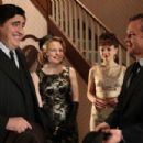 Left to Right: Alfred Molina as Jack, Cara Seymour as Marjorie, Carey Mulligan as Jenny, and Peter Sarsgaard as David. Photo taken by Kerry Brown, Courtesy of Sony Pictures Classics - 454 x 302