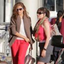 Eva Mendes: flying out of Toronto