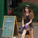 Mischa Barton Takes A Sunday Stroll In The West Village - August 9 2009