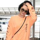 Jessie J at Narita International Airport in Tokyo - 454 x 653