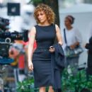 Jennifer Lopez – On the set of 'Shades of Blue' in New York - 454 x 653