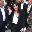 Shannen Doherty – Arrives at Good Morning America in New York City - 454 x 584