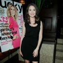 Alison Brie - Lucky Celebrates Its March Issue with Cover Star Heidi Klum at The Spare Room at The Roosevelt Hotel on February 3, 2011 in Hollywood, California