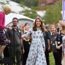 Kate Middleton – Attends the 'Back to Nature' festival in England - 454 x 681