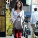 Minnie Driver stops by a nail salon in Los Feliz, California on January 6, 2014 - 430 x 594
