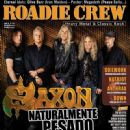 Paul Quinn, Nibbs Carter, Nigel Glockler - Roadie Crew Magazine Cover [Brazil] (April 2013)