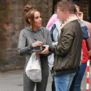 Stephanie Davis at Lime Pictures Studios in Liverpool - 454 x 730