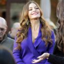 "Sofia Vergara appearance on ""Extra!"" at The Grove in Los Angeles 12/05/2011"