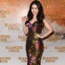 "Lily Collins Dazzles at ""Blanche Neige"" Paris Premiere"