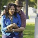 David Zayas and Lauren Velez