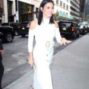 Jenna Dewan Tatum in White Dress out in New York City - 454 x 625