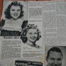 Micheline Presle, Shirley Temple, Judy Garland, Nelson Eddy, Fernandel, Madeleine Sologne, Sabu - Cine Revue Magazine Pictorial [France] (1 March 1945) - 299 x 448