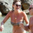 Kate Moss Bikini Candids In Ibiza