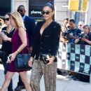 Shay Mitchell – Arrives at the AOL Build Series in New York City