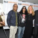 "Slash attends the Screening of Sony Pictures Classics' ""For No Good Reason"" on April 16, 2014 in Los Angeles, CA"