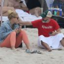 Busy Philipps at the beach in Mexico - 454 x 303