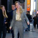 Amber Heard – Arriving at 'Good Morning America' studios in NYC