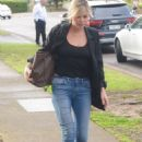 Sophie Monk – Arrives at KIIS FM in Sydney