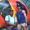 Tom Selleck and Roger E. Mosley in Magnum, P.I. - 300 x 402
