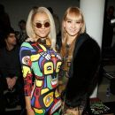 Kat Graham: attends the Jeremy Scott fall 2013 fashion show during MADE fashion week at Milk Studios in New York City