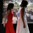 MIchelle Obama and Queen Letizia of Spain Attend 'Lets Girls Learn'