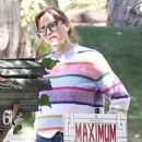 Jennifer Garner – outside her home in Los Angeles