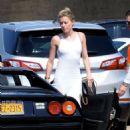 Amber Heard in Tight White Dress – Arriving at Nobu un Malibu