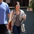 Demi Lovato - Leaving The Jungle Room Recording Studio, 2009-03-25