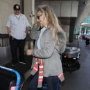 Heather Thomas – Arriving at LAX Airport in Los Angeles