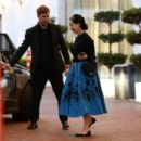 Dita Von Teese – Shopping at Neiman Marcus in Beverly Hills - 454 x 303