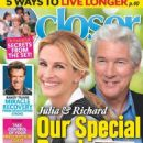Julia Roberts and Richard Gere - Closer Magazine Cover [United States] (1 March 2019)