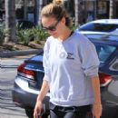 Olivia Wilde in Spandex out in Studio City - 454 x 681