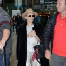 Kylie Minogue – Arriving at Dublin Airport - 454 x 769