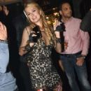 Paris Hilton Performs The Vip Room Jw Marriott The 68th Annual Cannes Film Festival