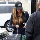 While rushing her way out of Saks Fifth Sofia Vergara accidentally jumped into the wrong black SUV on January 20, 2015 quickly realized her mistake and hopped out before getting some directions from the valet to the right ride