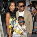 Puff Daddy and Kim Porter - 454 x 714