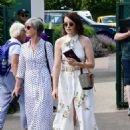 Claire Foy – Wimbledon Tennis Championships 2019 in London - 454 x 590