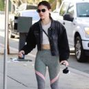Lucy Hale – Heading to Starbucks in Los Angeles