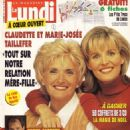 Marie-Josée Taillefer - Le Lundi Magazine Cover [Canada] (15 December 1995)
