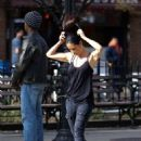 Lucy Liu heads to the set of 'Elementary' in West Village