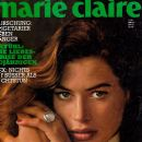 Carré Otis - Marie Claire Magazine Cover [Germany] (June 1991)