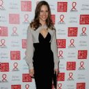 Hilary Swank: attended Sidaction Gala Dinner 2013 in Paris