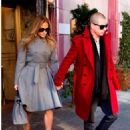 Jennifer Lopez Out in New York With Casper Smart
