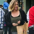 Jennie Garth Out in New York - 454 x 699