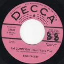 Bing Crosby - I'm Confessin' (That I Love You) / Chinatown My Chinatown
