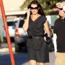 Brooke Shields Out And About - Brentwood, September 30 2009